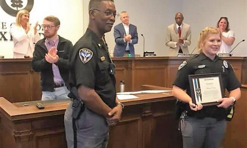 CJ Alumni and OPD Officer Honored for Life-Saving Actions