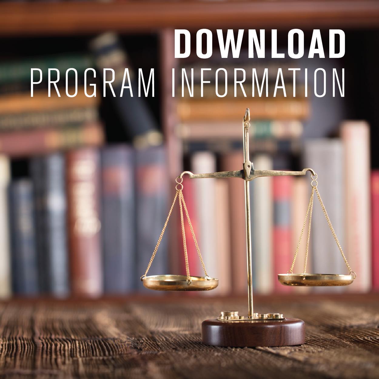 MCJ Program Handout